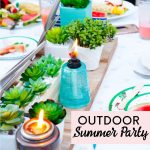 Outdoor Summer Party with TIKI Brand
