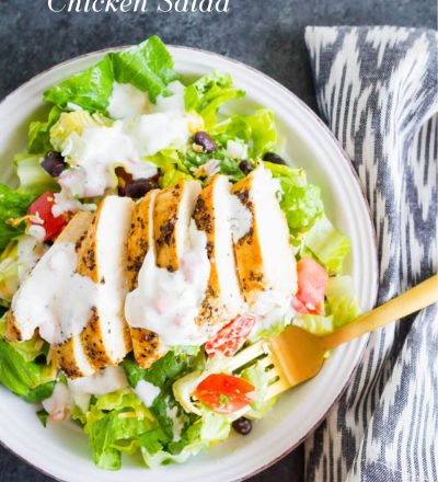Santa Fe Chicken Salad - a simple, refreshing salad recipe that's perfect for summer!