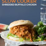 xSkinny Slow Cooker Shredded Buffalo Chicken