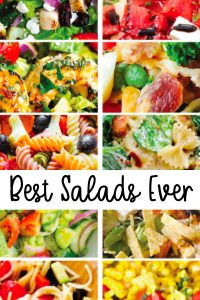 The Best Salads EVER - these are all soooo good!