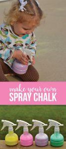 Make your own spray chalk