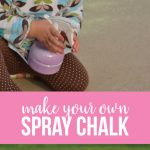 Make your own spray chalk