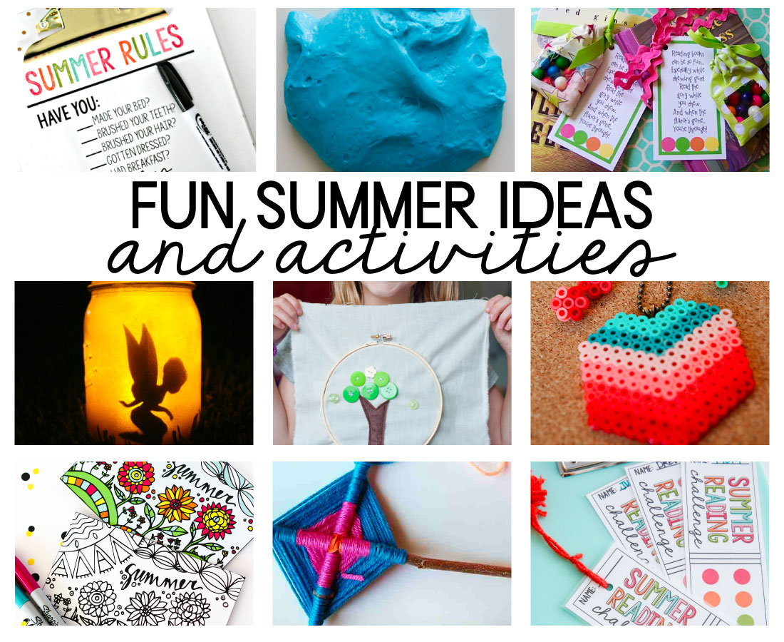 Fun Summer Ideas and Activities for Kids
