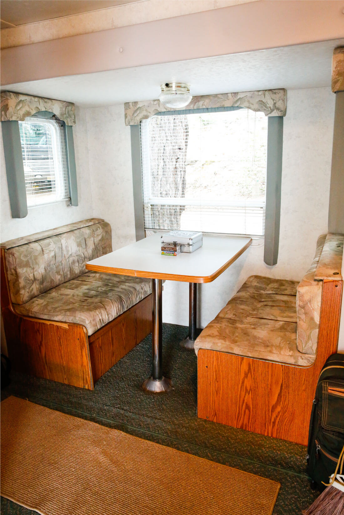 Tips for RVing from someone who hated tent camping - the inside of our RV 2
