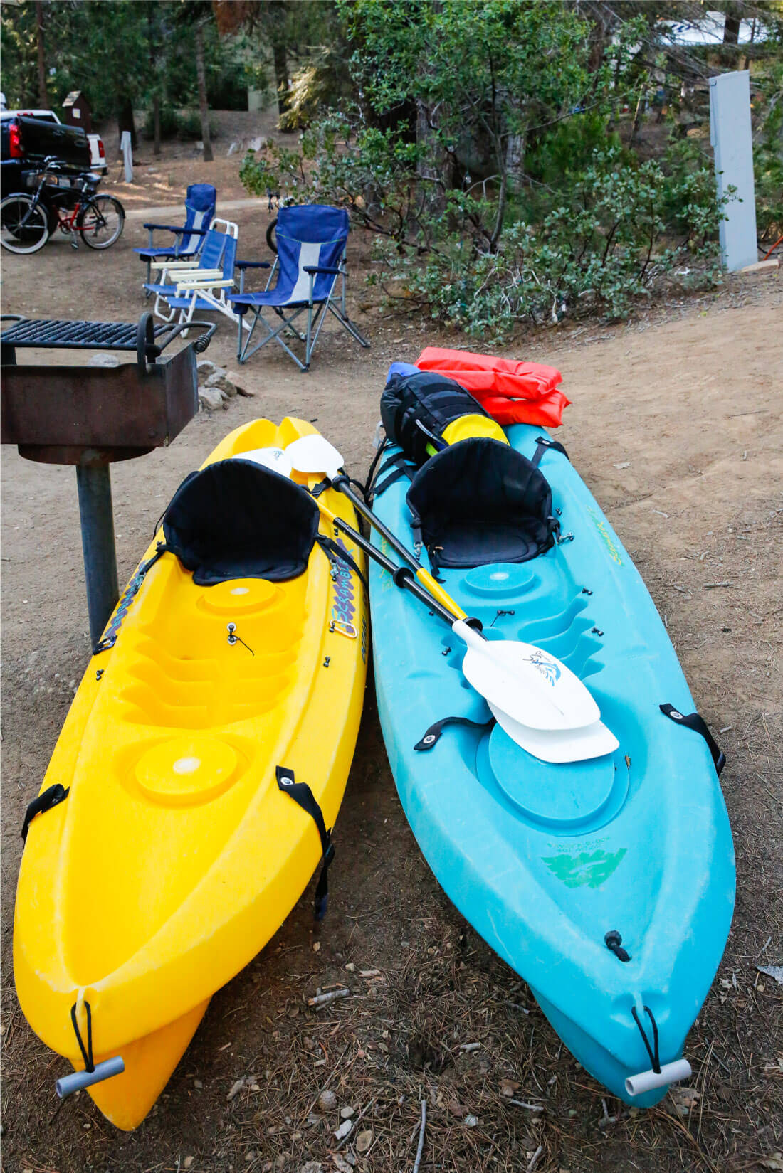 Kayaking for our rv trip