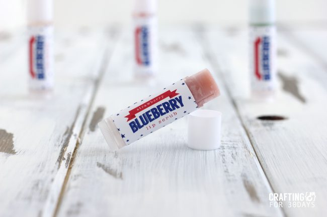 The perfect activity for summer- learn how to make lip balm. Make a 4th of July Strawberry Blueberry version that is so awesome! CraftingE via thirtyhandmadedays.com