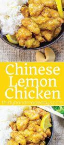 Chinese Lemon Chicken - because it's better homemade!