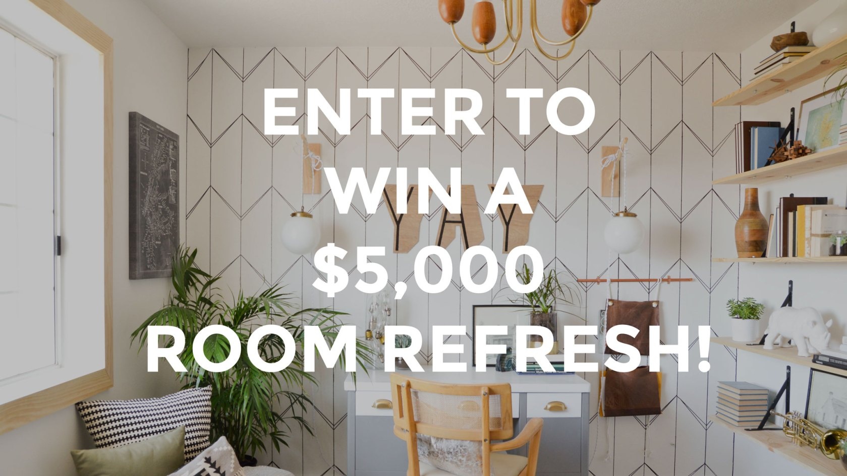 Enter to win a room refresh from Build Design Live