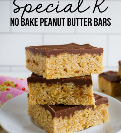 Special K Bars - no bake bars - a family favorite from www.thirtyhandmadedays.com