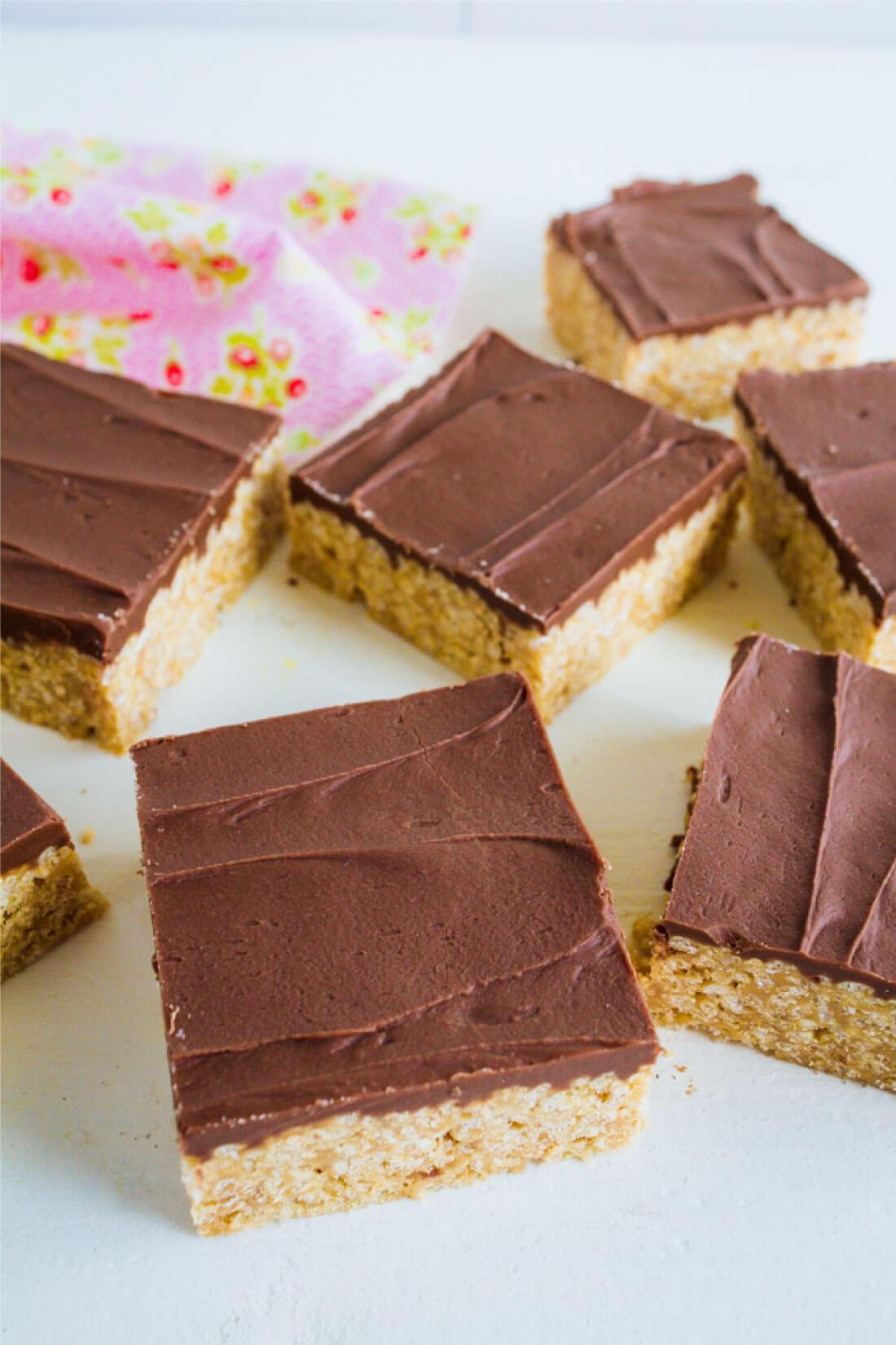 Special K Bars Recipe (No Bake Peanut Butter Bars)