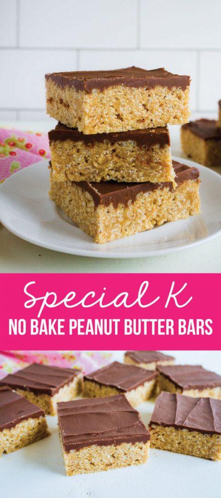 Special K Bars - no bake bars - a family favorite via www.thirtyhandmadedays.com