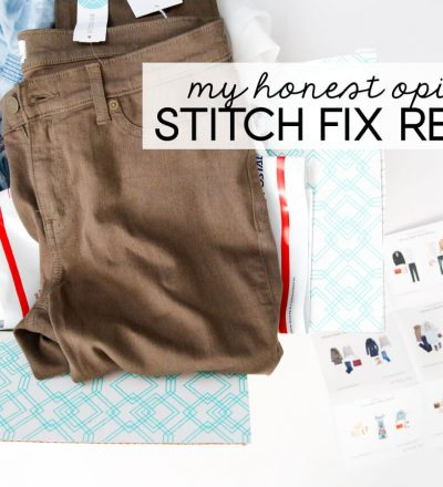 My Honest Opinions - Stitch Fix Review - what I liked, what I didn't from www.thirtyhandmadedays.com