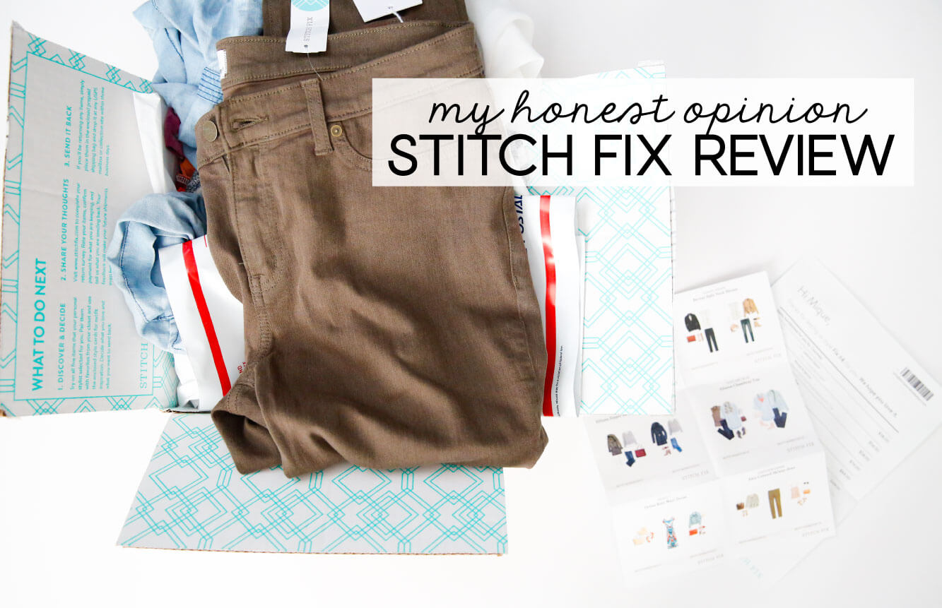 My Honest Opinions - Stitch Fix Reviews - what I liked, what I didn't from www.thirtyhandmadedays.com