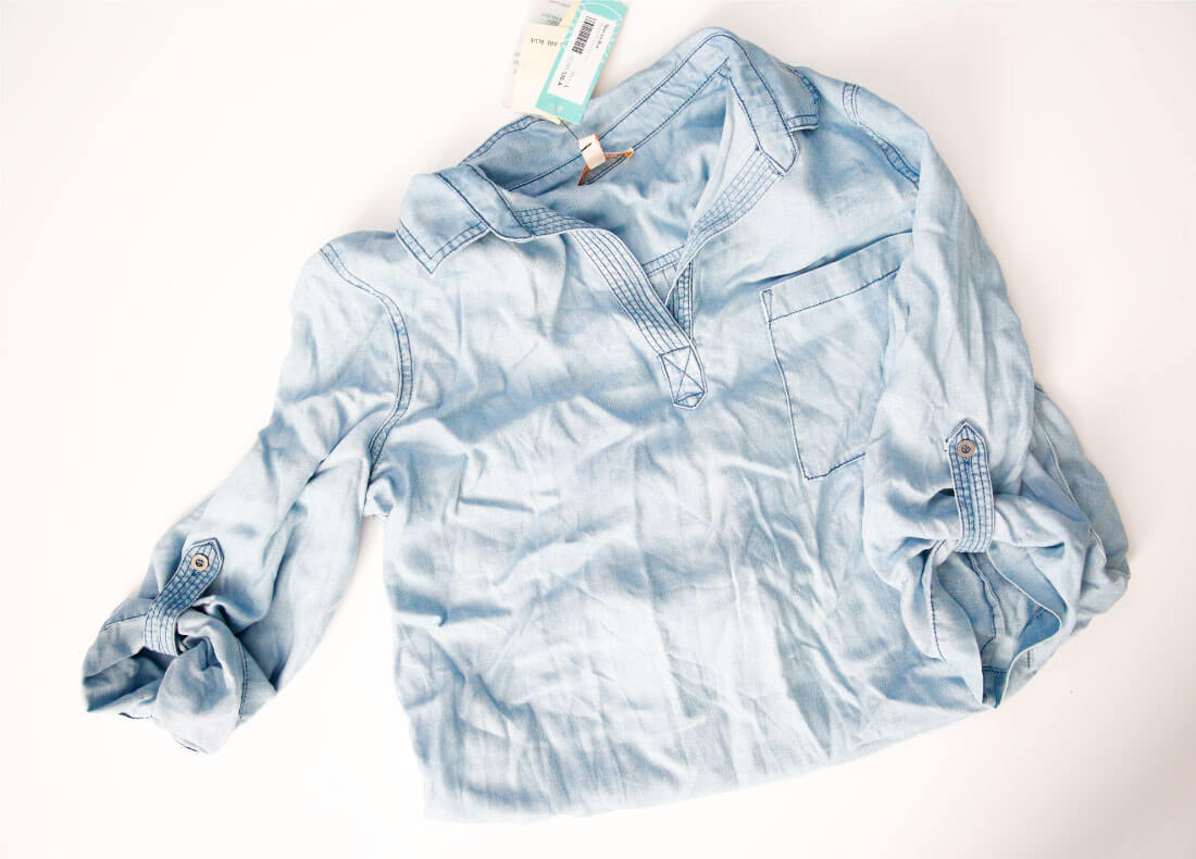 Denim shirt from Stitch Fix