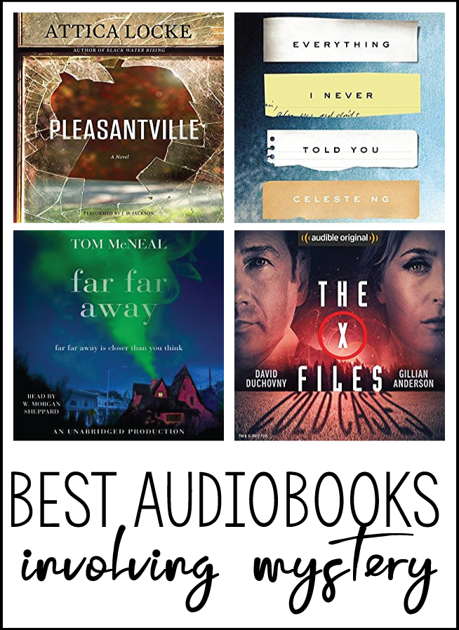 For those who love mystery, I've got a list of the best audiobooks to listen to.  You won't be able to push pause on this list.