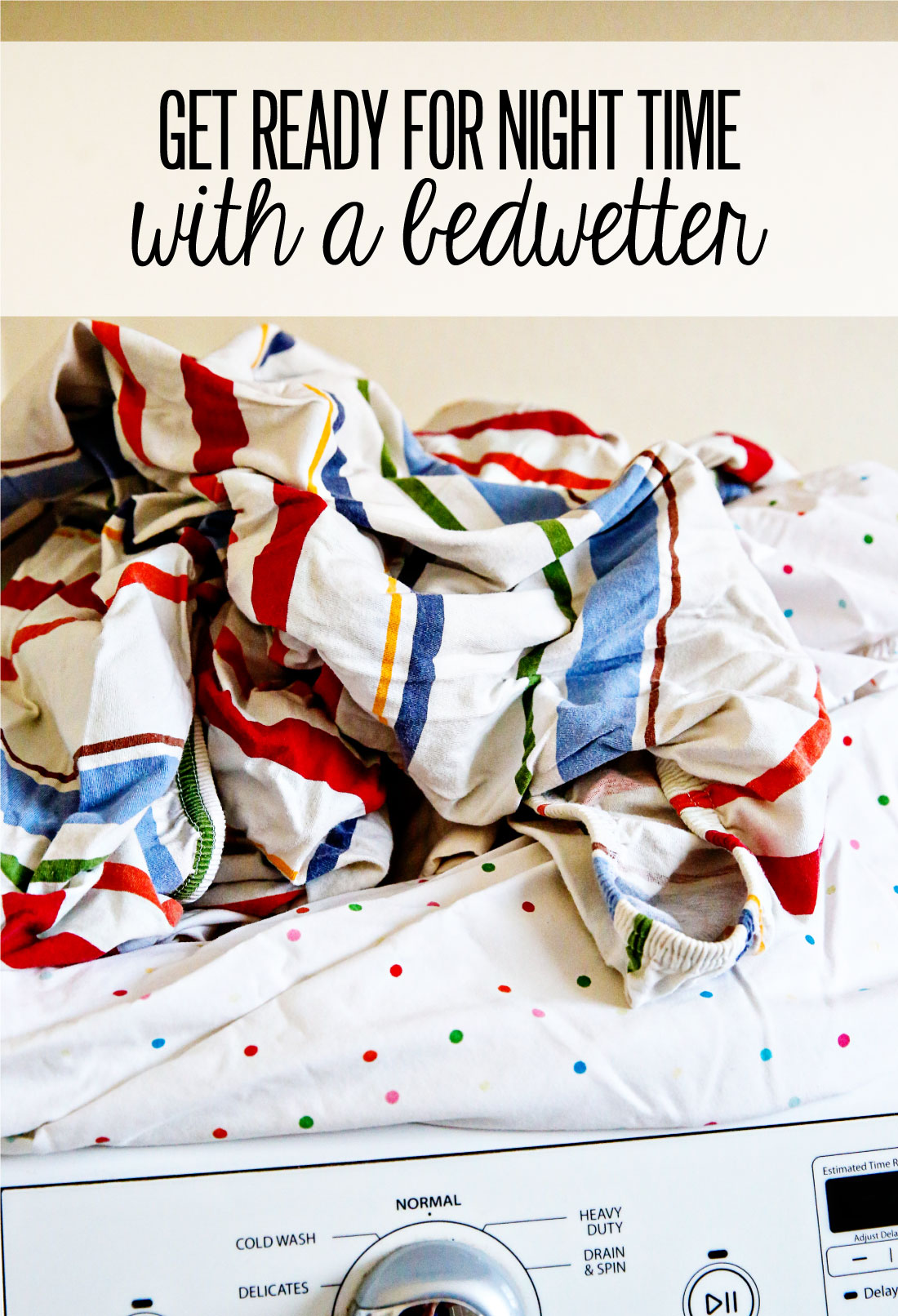 5 tips for getting ready for bed with a bedwetter! When bedwetting is an issue --- from www.thirtyhandmadedays.com