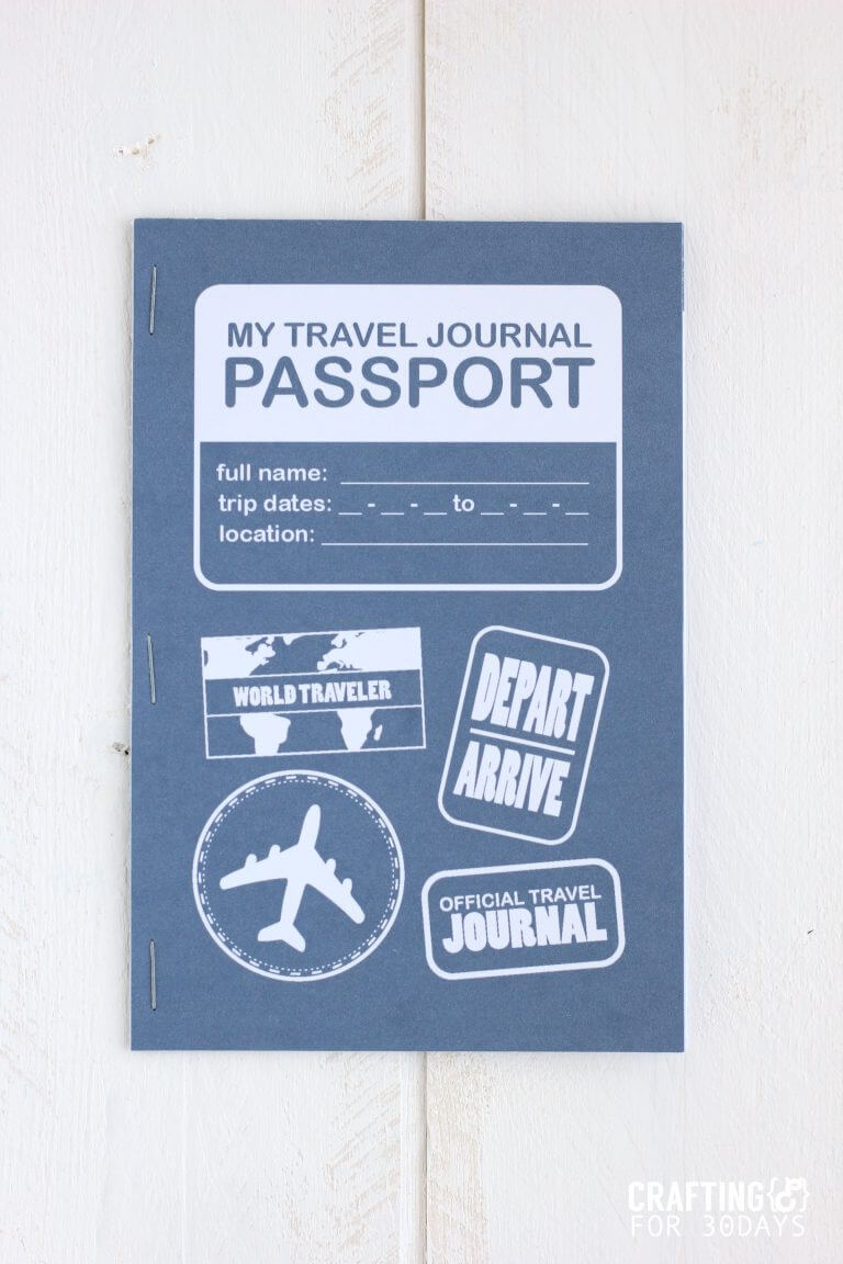 graphic relating to Travel Journal Printable known as Printable Drive Magazine