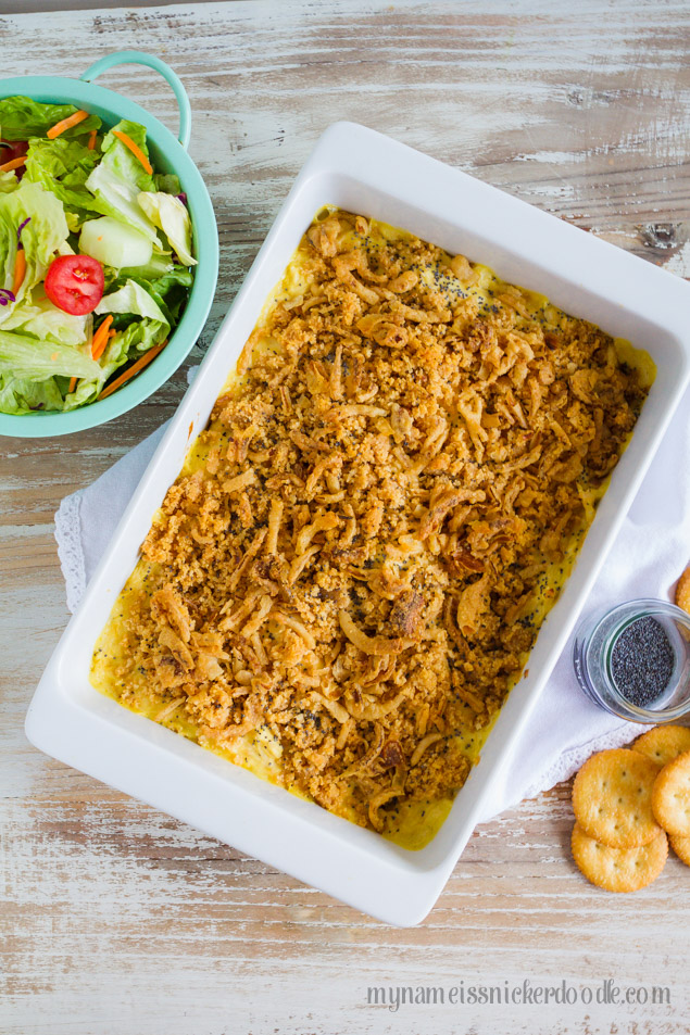 Creamy Ritz Chicken Bake Recipe - this will be one of your family favorite main dishes for sure!