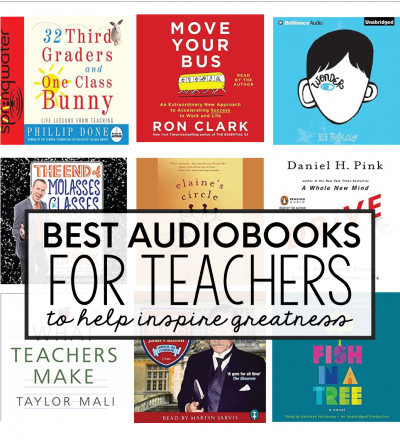Best Audiobooks for Teachers to inspire greatness