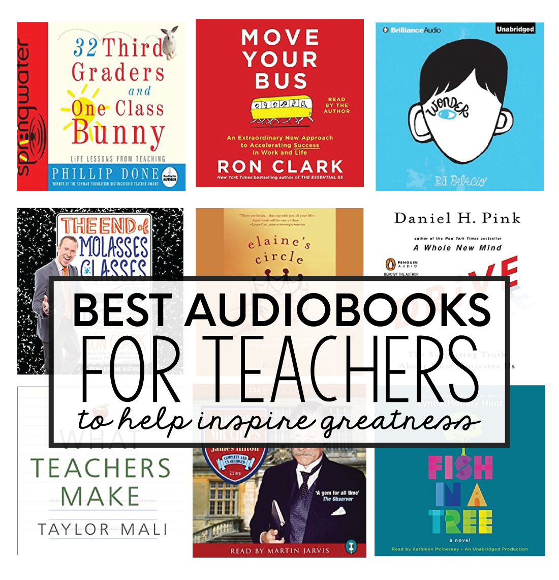 Best Audible Books for Teachers to inspire greatness