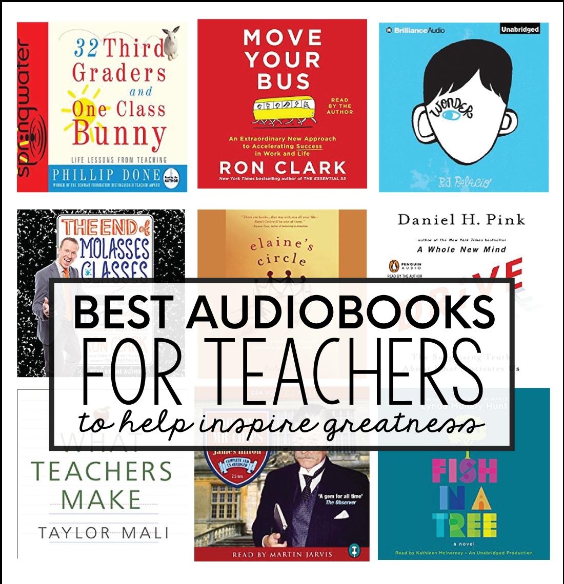 Best Audible Books for Teachers