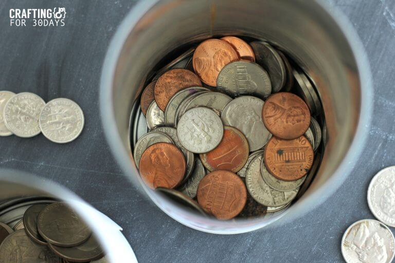 photo about Savings Jar Printable called Trip Fund Jar (With No cost Printable)