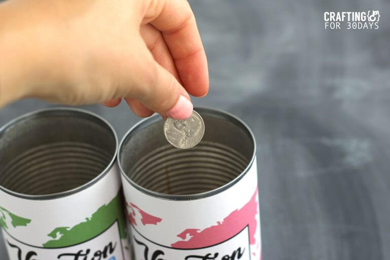 photograph about Savings Jar Printable known as Getaway Fund Jar (With Cost-free Printable)