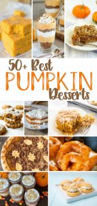 50 Pumpkin Desserts That You'll Fall For! from www.thirtyhandmadedays.com