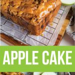 Apple Cake - make this apple cake recipe and you'll fall in love with it. Perfect for fall!