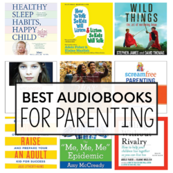 Best Audibooks for Parenting - books that will change your life and your outlook on parenting. www.thirtyhandmadedays.com