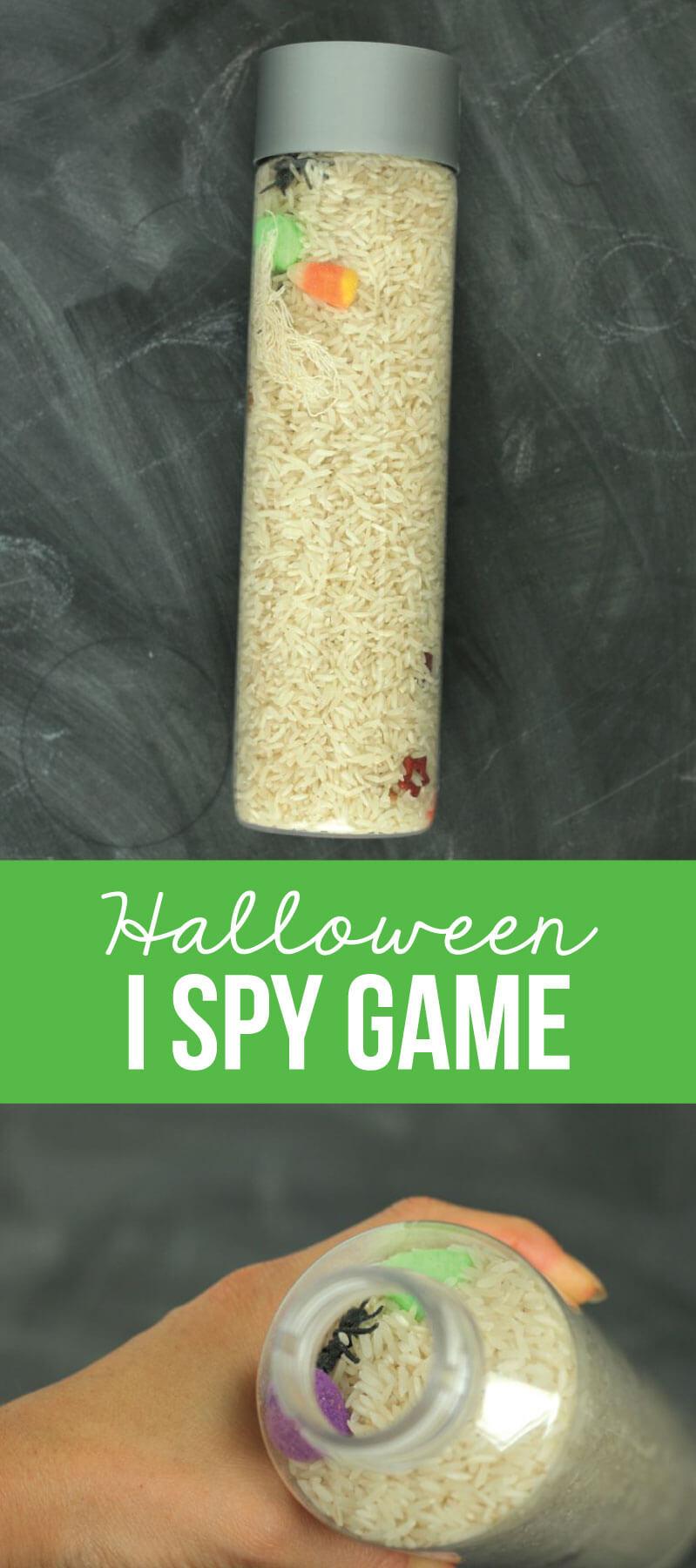 Halloween I Spy Game - really simple and fun to put together for the holiday! thirtyhandmadedays.com