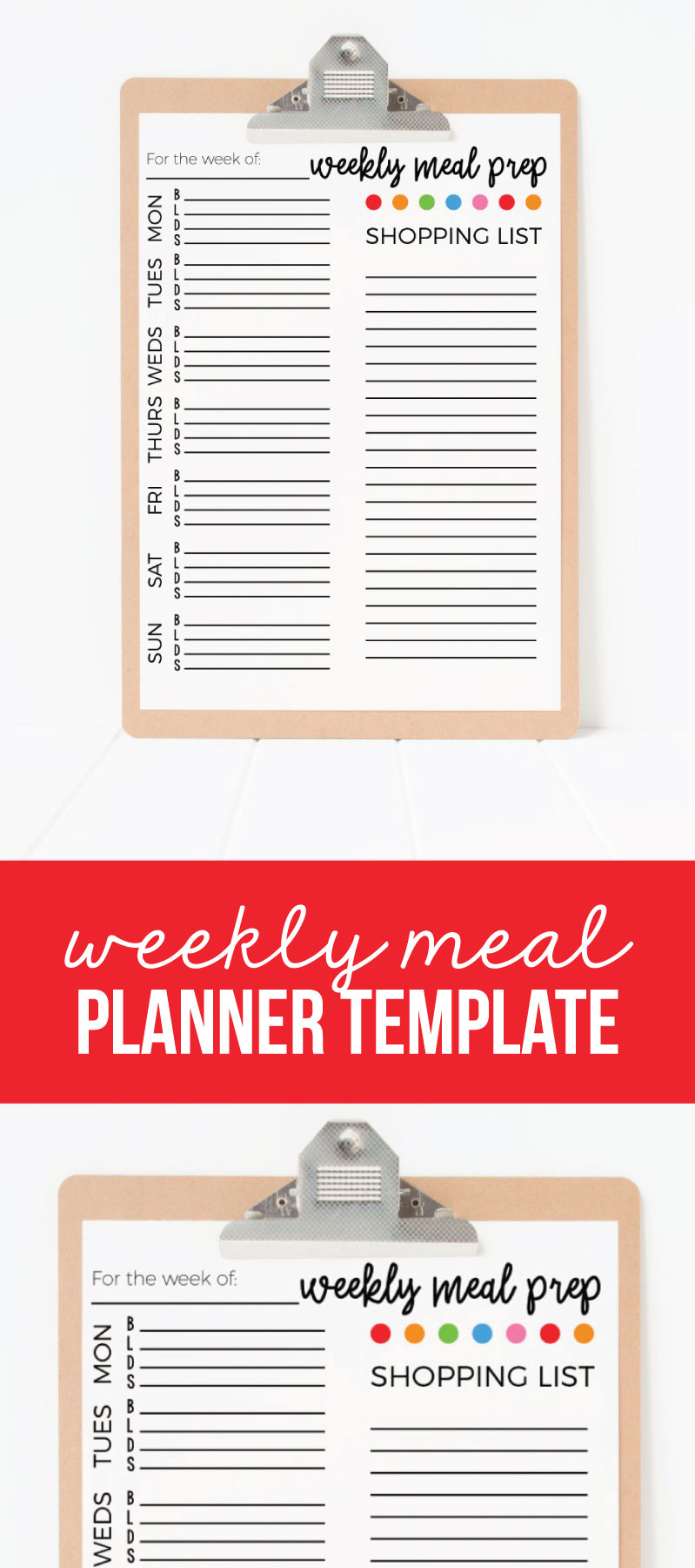 This is a graphic of Old Fashioned Printable Weekly Meal Planners
