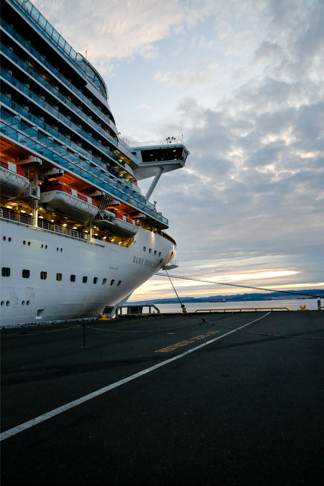 What's It Really Like Going on an Alaskan Cruise? Arriving in the Ruby Princess.