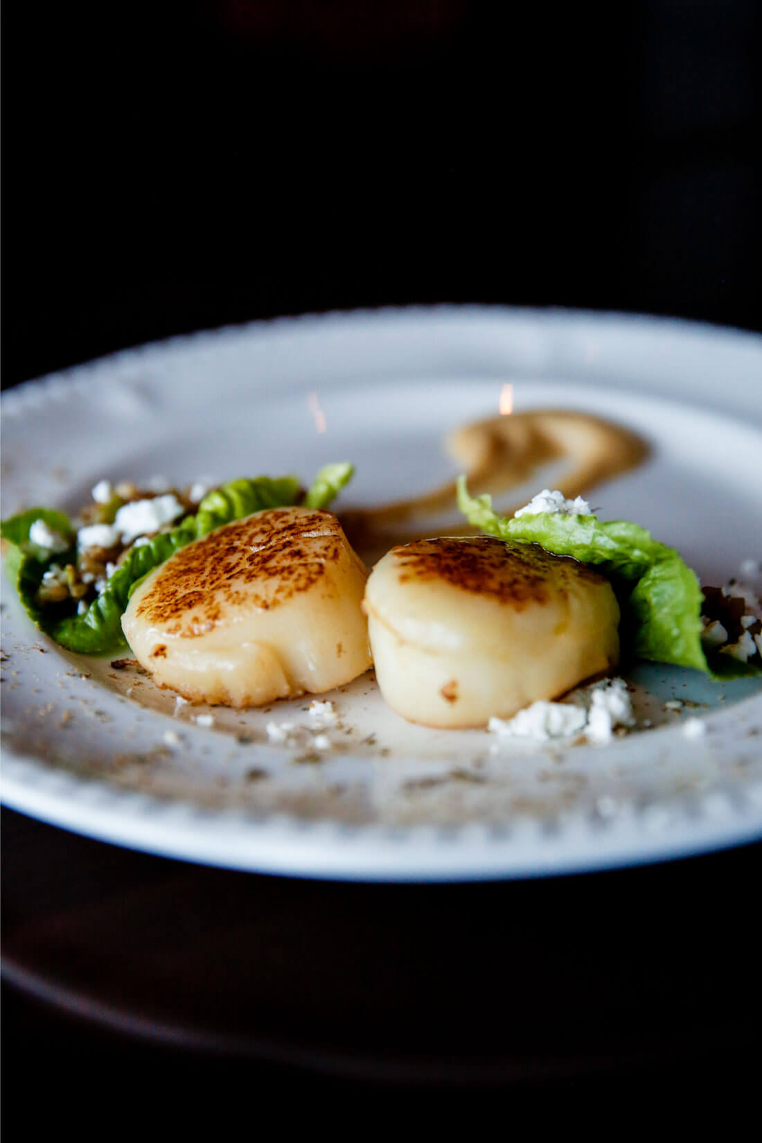 Tips, tricks and things to keep in mind about food on a Princess Cruise - scallops www.thirtyhandmadedays.com