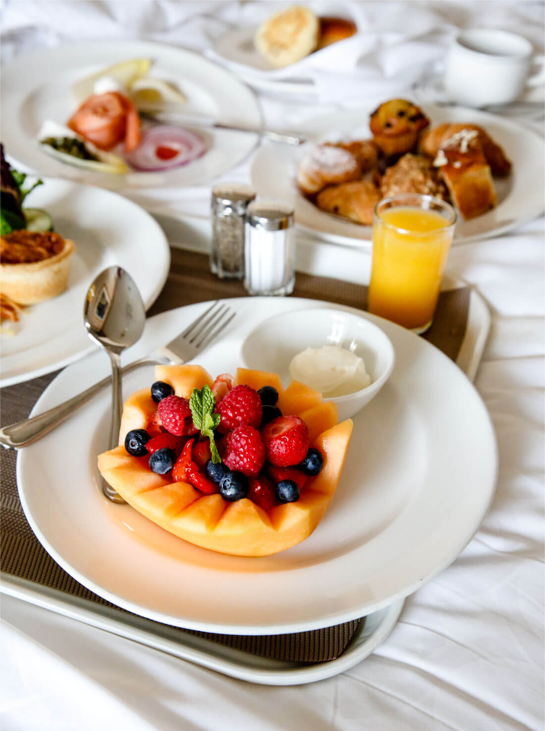 Tips, tricks and things to keep in mind about food on a Princess Cruise - room service.