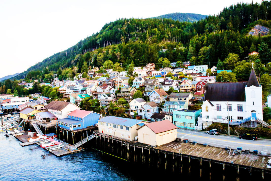 What's It Really Like Going on an Alaskan Cruise? Arriving in Ketchikan.