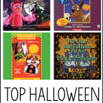 Top Halloween Audiobook List for Kids - listen to these fun books for the holiday! Available via Audible.