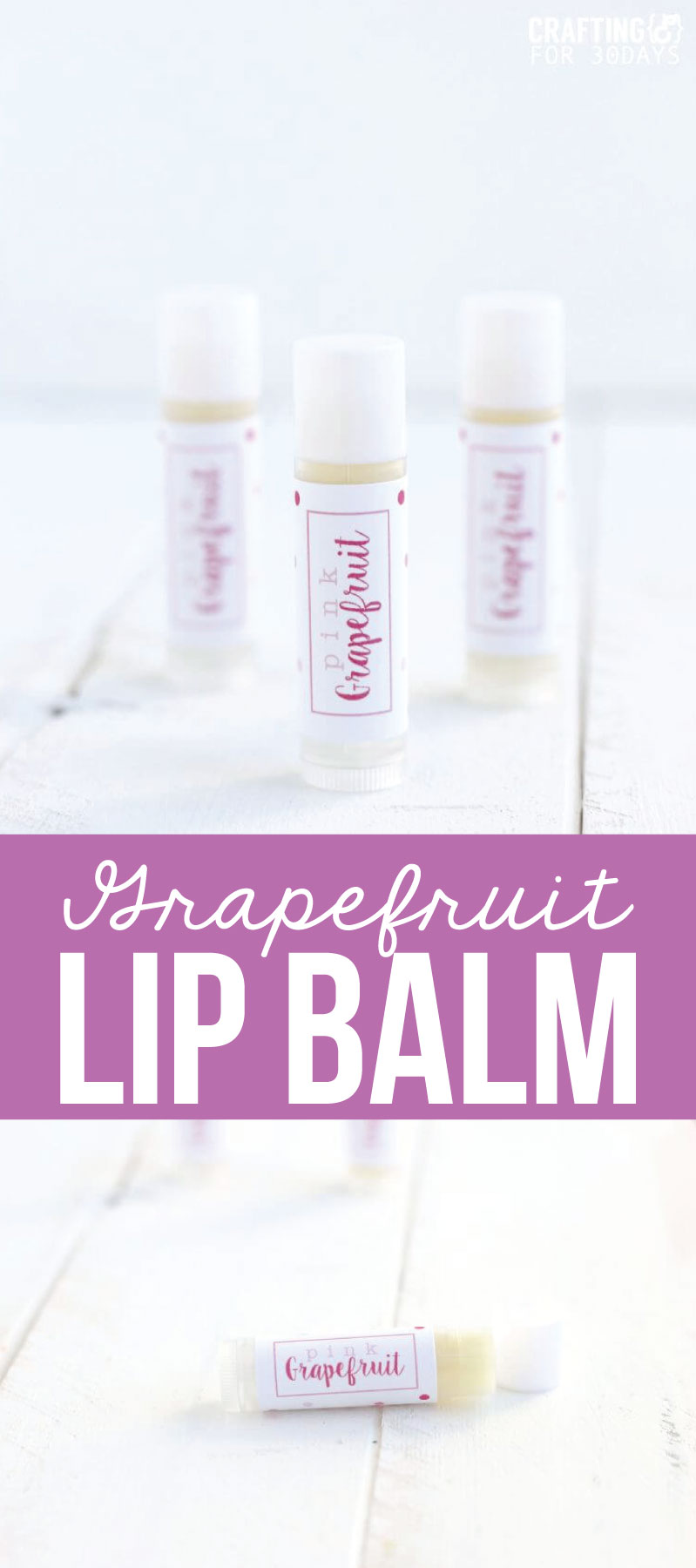How to make lip balm - you can make whatever kind you want! www.thirtyhandmadedays.com