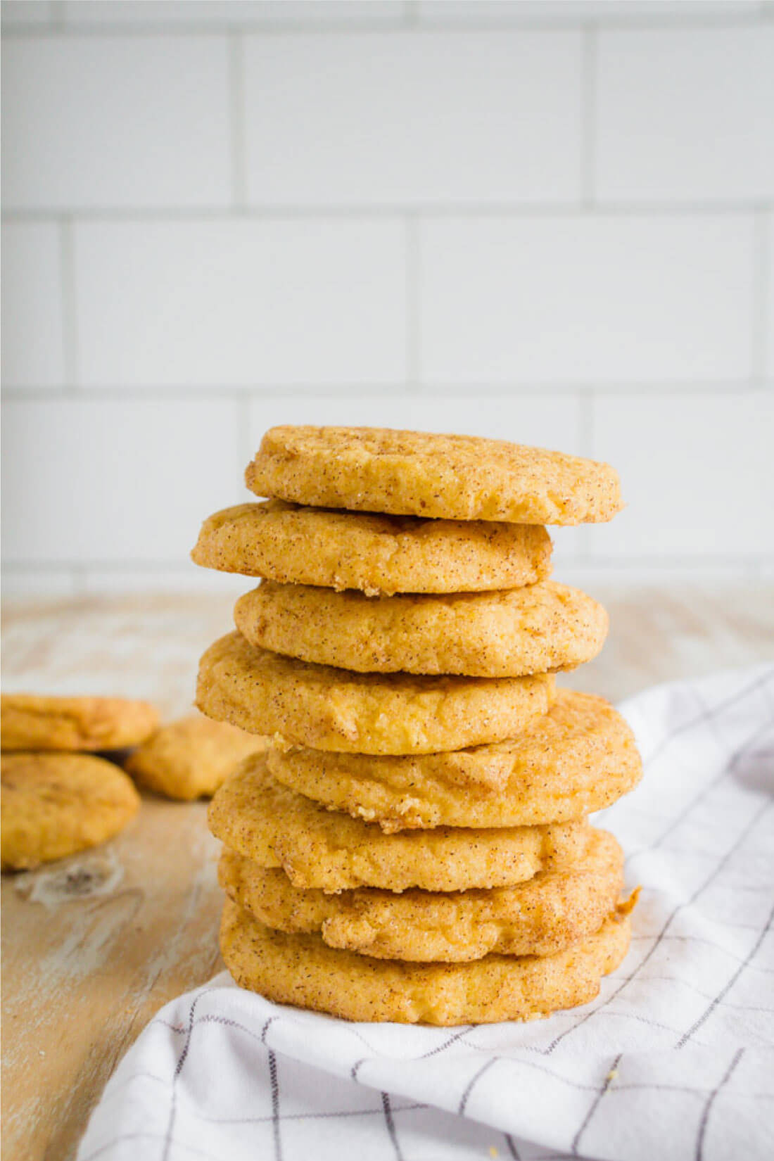 Pumpkin Snickerdoodles - a fresh take on an old classic for fall! from thirtyhandmadedays.com