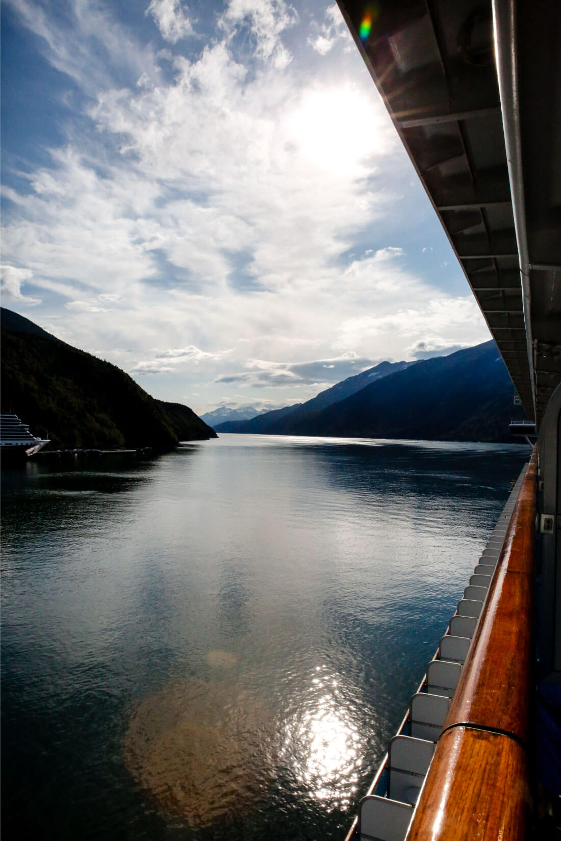 What's It Really Like Going on an Alaskan Cruise? Arriving in Skagway