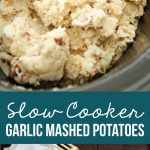 Crockpot Mashed Potatoes - make the most delicious mashed potato recipe you've ever had from www.thirtyhandmadedays.com