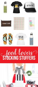 Stocking Stuffers For Food Lovers via www.thirtyhandmadedays.com