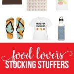 Stocking Stuffers For Food Lovers via www.thirtyhandmadedays.com