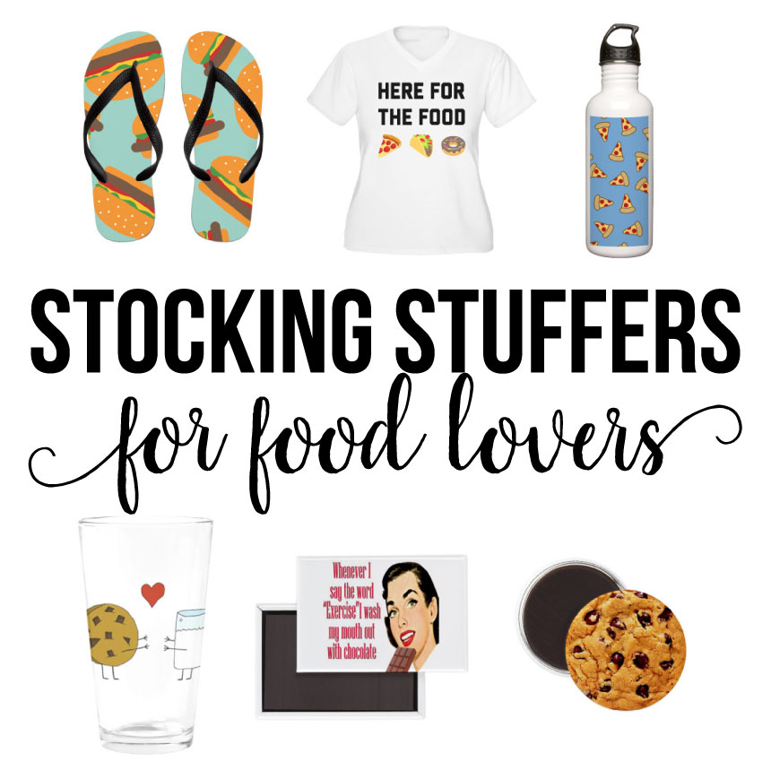 Stocking Stuffers For Food Lovers via thirtyhandmadedays.com