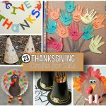 23 Cute Thanksgiving Crafts for Kids