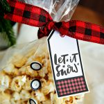 Holiday Kettle Corn Snack Mix