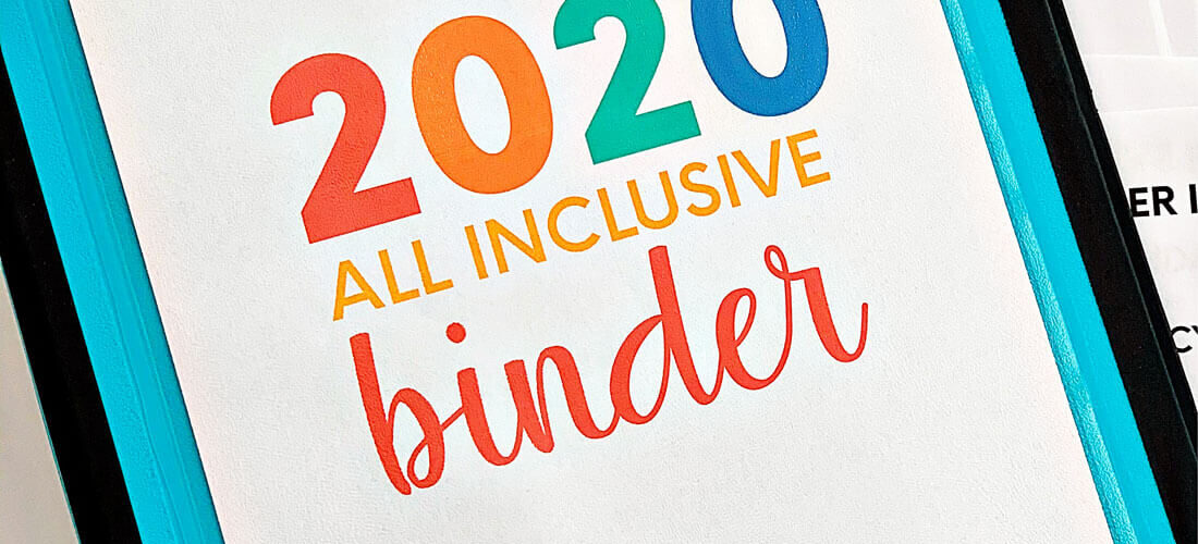 All Inclusive Binder