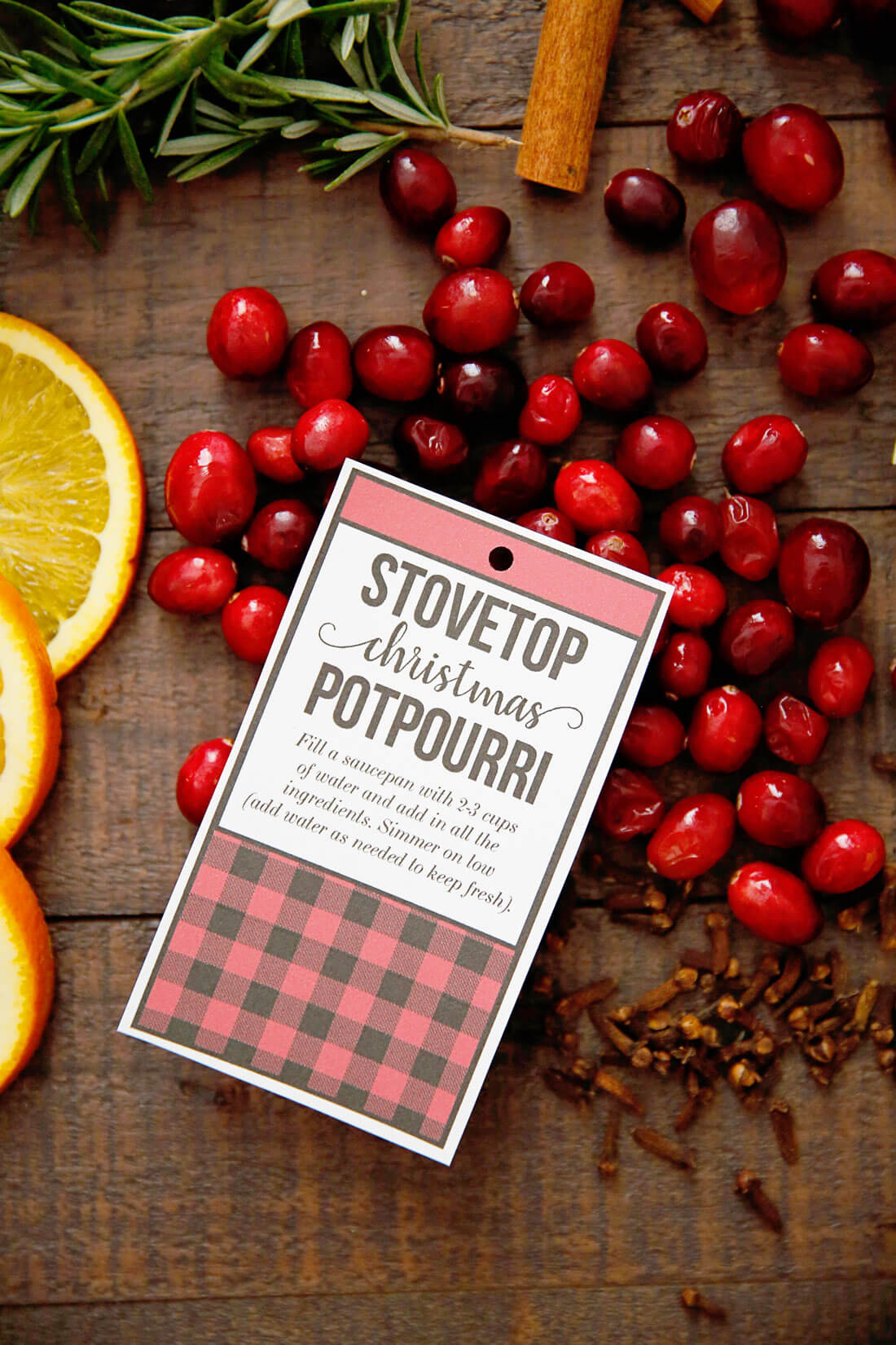 Stovetop Christmas Potpourri - make this and your house will smell AMAZING! It's like Christmas in a pot. via www.thirtyhandmadedays.com
