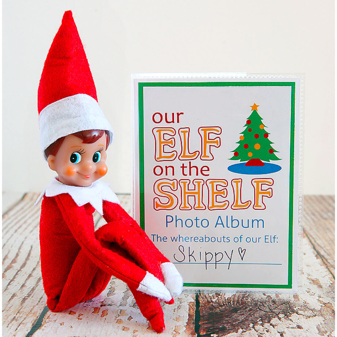 DIY Elf on the Shelf Photo Album