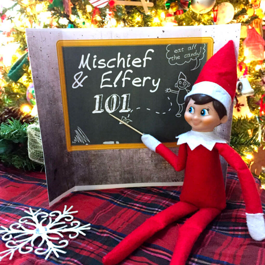 Elf on the Shelf Backdrops